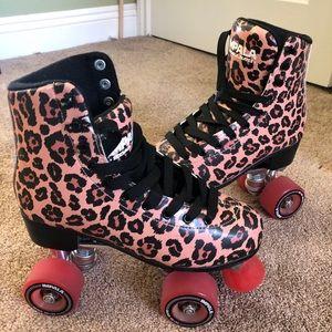 Authentic Cheetah Impala Rollerskates